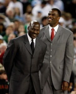 david robinson - head and shoulders above m.j. in more ways than one
