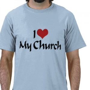 nothing says devotion like a t-shirt message